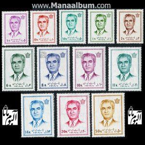 تمبر پستی پهلوی سری 13