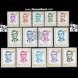 تمبر پستی پهلوی سری 14