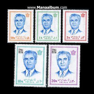 تمبر پستی پهلوی سری 15