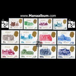 تمبر پستی پهلوی سری 19