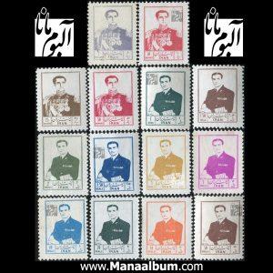 تمبر پستی پهلوی سری 06