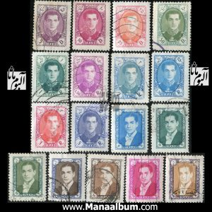 تمبر پستی پهلوی سری 08