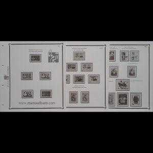 آلبوم مصور تکسری یادگاری پهلوی 18 تا 43