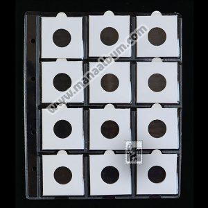 ورق آلبوم سکه با کاور 22