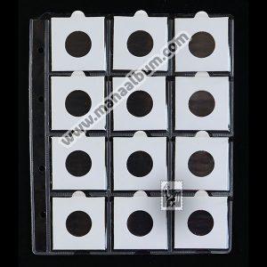 ورق آلبوم سکه با کاور 24