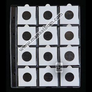 ورق آلبوم سکه با کاور 25