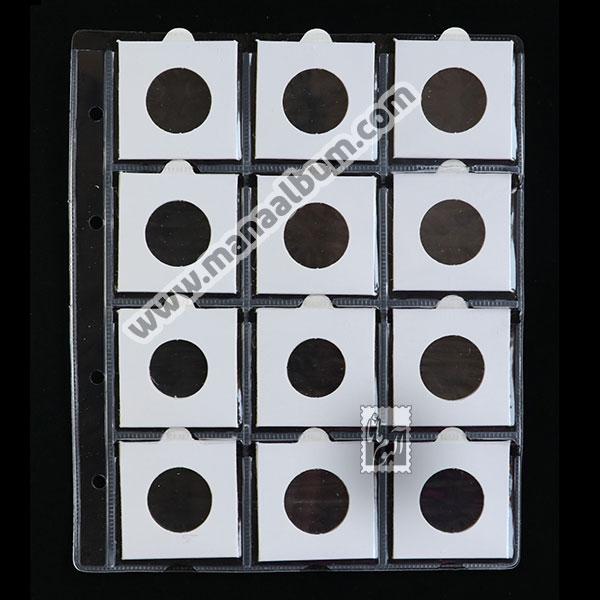 ورق آلبوم سکه با کاور 28