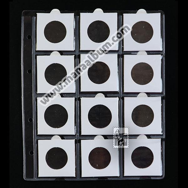ورق آلبوم سکه با کاور 30