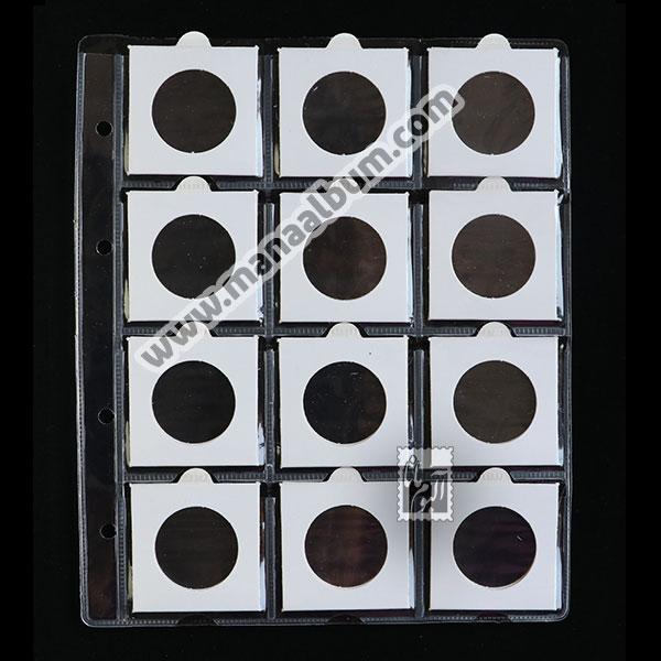 ورق آلبوم سکه با کاور 34