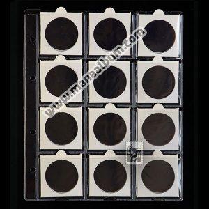 ورق آلبوم سکه با کاور 40