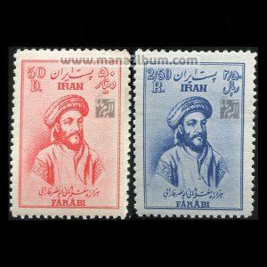 تمبر: هزاره معلم ثانی ابونصر فارابی