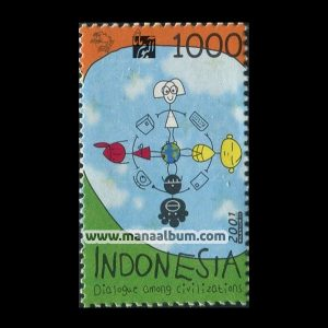 تمبر گفتگوی تمدنها چاپ : اندونزی