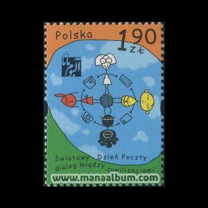 تمبر گفتگوی تمدنها چاپ : لهستان