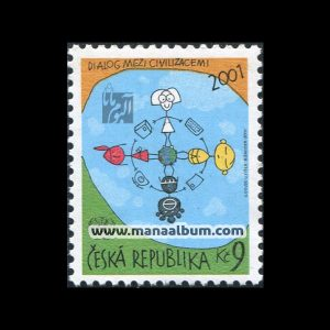 تمبر گفتگوی تمدنها چاپ : جمهوری چک