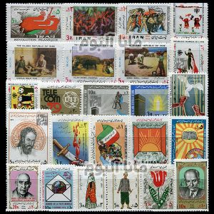58 - مجموعه کامل تمبرهای یادگاری سال 58