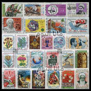 62 - مجموعه کامل تمبرهای یادگاری سال 62