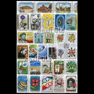 63 - مجموعه کامل تمبرهای یادگاری سال 63