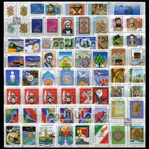 67 - مجموعه کامل تمبرهای یادگاری سال 67