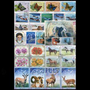 81 - مجموعه کامل تمبرهای یادگاری سال 81