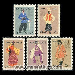 3401 - تمبر لباسهای محلی ایران