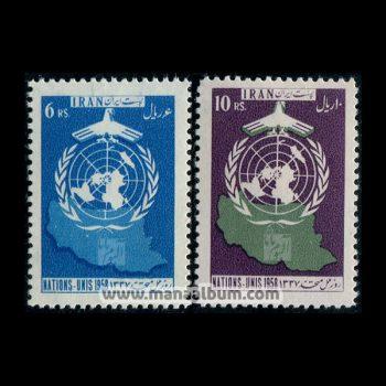 3703 - تمبر روز ملل متحد