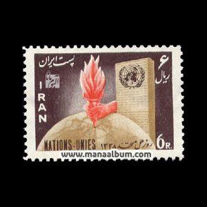 3803 - تمبر روز ملل متحد