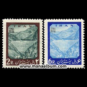 4102 - تمبر سد امیرکبیر (کرج)