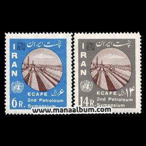 4106 - تمبر دومین سمپوزیوم نفتی آسیا