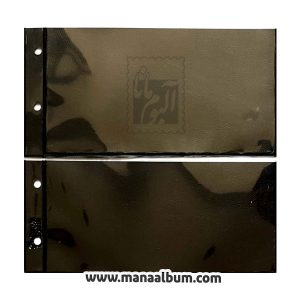 ورق آلبوم اسکناس 2 خانه طرح لیندنر سایز کوچک