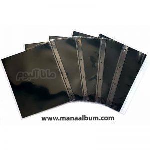 پک ورق آلبوم اسکناس 1 خانه 5 برگ